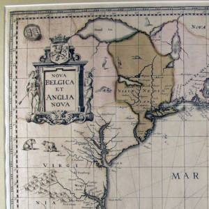 Nova Belgica et Anglica Nova, 1694. (Courtesy Fordham University Archives and Special Collections.)