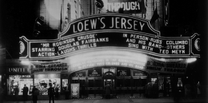 Loew's Jersey Theatre (Courtesy of Friends of the Loew's).