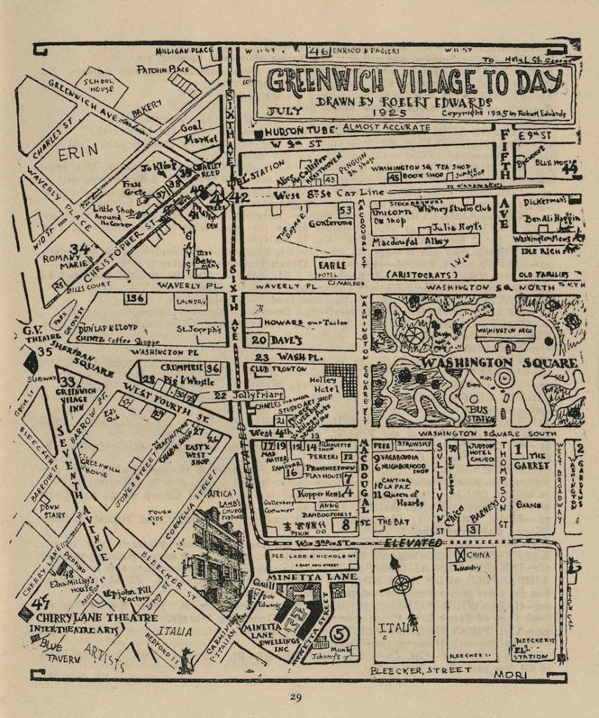 Greenwich Village Map