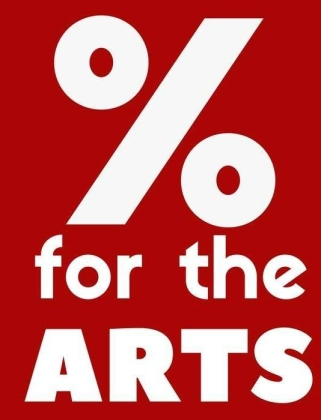 % for the Arts