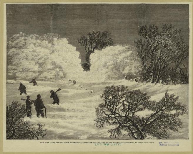 Snow 2 NYPL