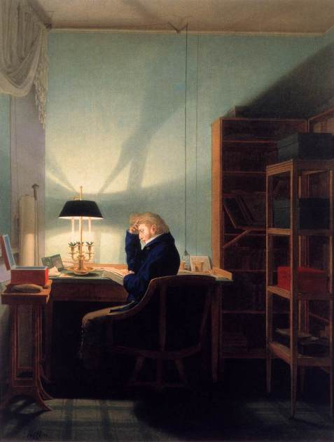 Georg_Friedrich_Kersting_-_Man_Reading_at_Lamplight_-_WGA12122