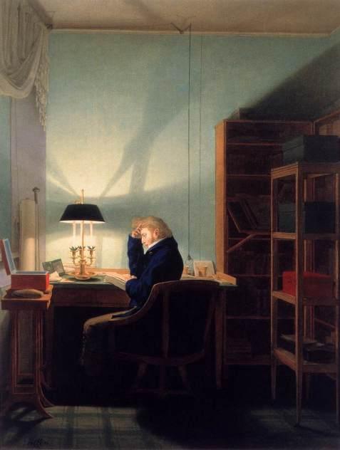 Georg_Friedrich_Kersting_-_Man_Reading_at_Lamplight_-_WGA12122