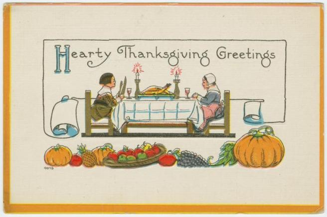 Thanksgiving Postcard