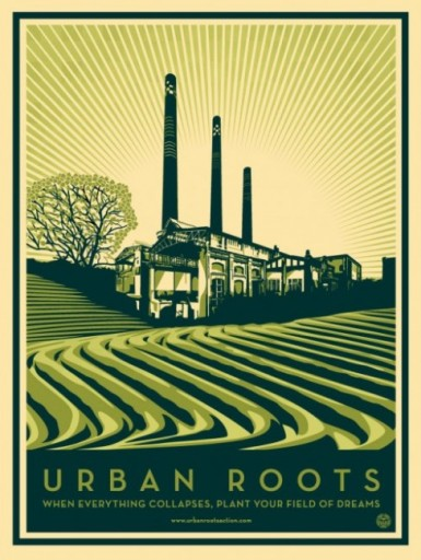 Urban Roots Poster