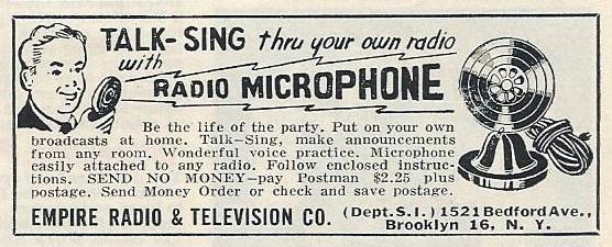 Vintage_Ad_For_Empire_Radio_Microphone,_From_Popular_Science_Magazine,_June_1948_(13642866735)